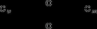 ポリ塩化ジベンゾ-p-ジオキシンの化学構造