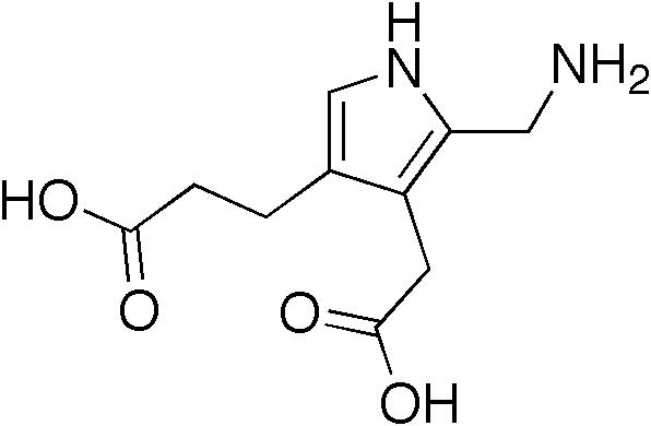 ポルフォビリノーゲンの化学構造