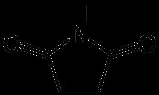 マレイミドの化学構造