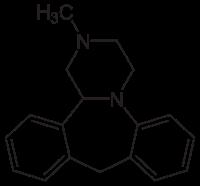 ミアンセリンの化学構造
