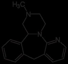 ミルタザピンの化学構造