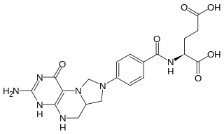 メチレンテトラヒドロ葉酸の化学構造
