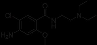 メトクロプラミドの化学構造