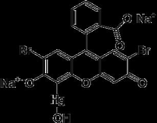 メルブロミン(マーキュロクロム)の化学構造