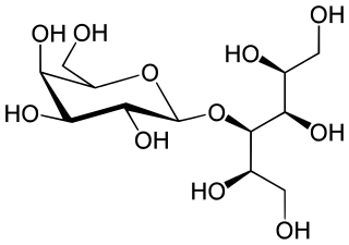 ラクチトールの化学構造