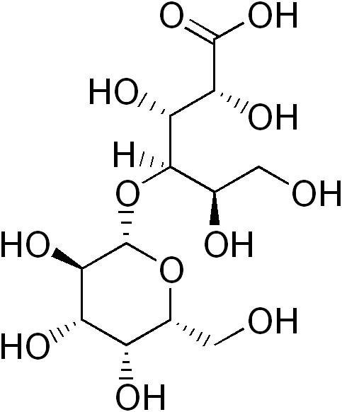 ラクトビオン酸の化学構造