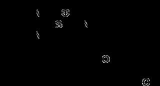 ラベプラゾールの化学構造