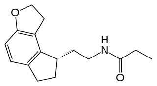 ラメルテオンの化学構造