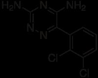ラモトリギンの化学構造