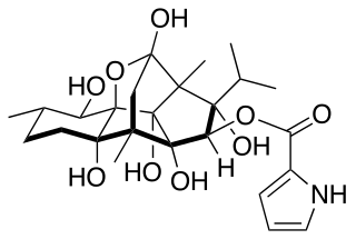 リアノジンの化学構造