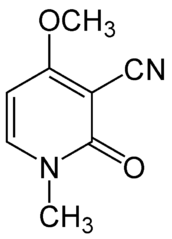 リシニンの化学構造