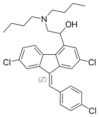 ルメファントリンの化学構造