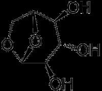 レボグルコサンの化学構造