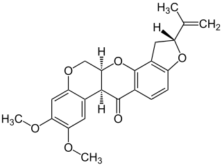 ロテノンの化学構造