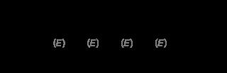 全トランス型レチノイン酸(トレチノイン)の化学構造