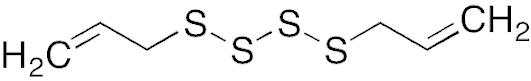 四硫化アリル(ジアリルテトラスルフィド)の化学構造