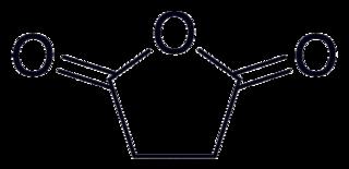 無水コハク酸の化学構造