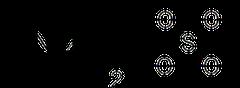 硫酸アンモニウム(硫安)の化学構造