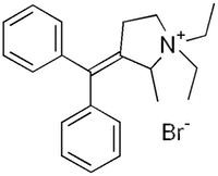 臭化プリフィニウム(プリフィニウム臭化物)の化学構造