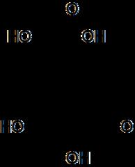 3-デヒドロキナ酸の化学構造