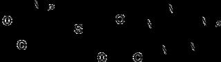 S-アデノシルメチオニンの化学構造