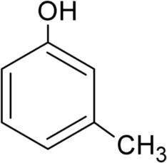 m-クレゾールの化学構造